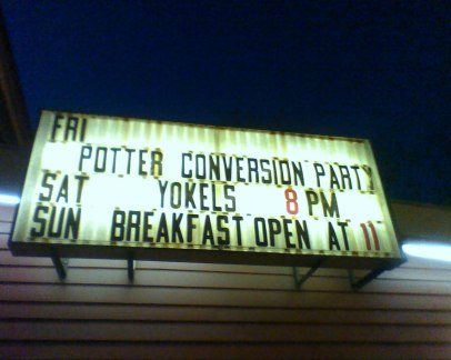 Potter Conversion Party
